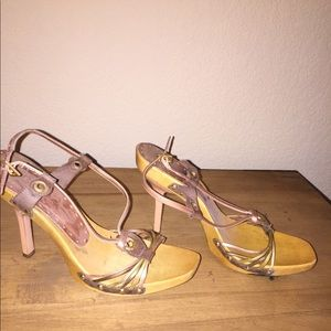 BCBGirls Wood heels